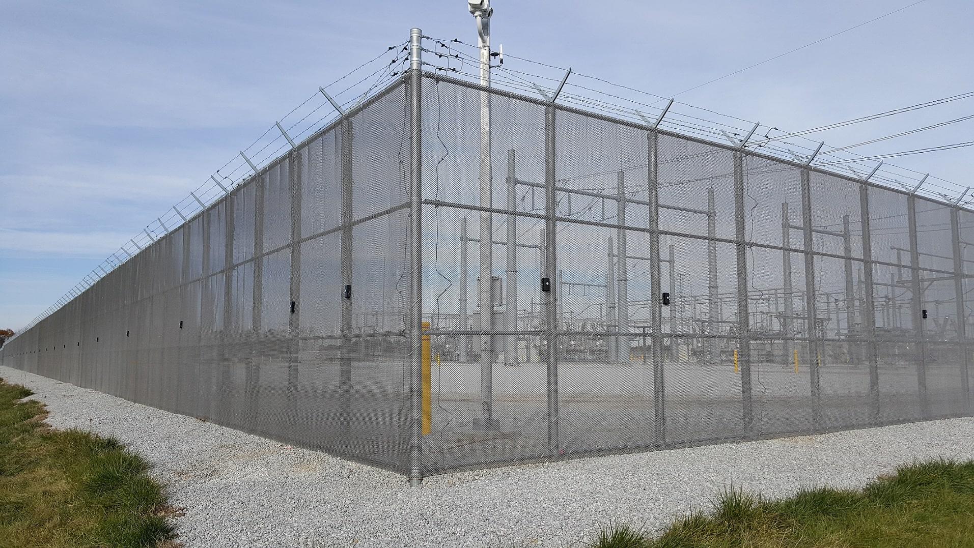 Zaun montierte Einbruchmeldeanlage